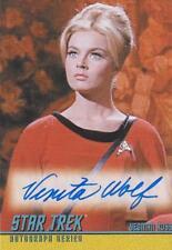 Star Trek The Original Series Venita Wolf As Yeoman Ross Autograph Card A176