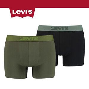 Levis 2 Pack Blazing Carpet Boxer Short Briefs Khaki 200SF