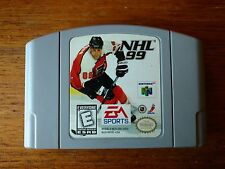 NHL 99 (Nintendo 64, 1998) Cart only, tested