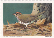 1960 National Wildlife Federation Conservation Stamp Ovenbird MNH