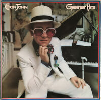 ELTON JOHN GREATEST HITS LP MCA USA CRC CLUB PRESSING STUNNING SLEEVE! PRO CLEAN