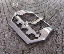 Wertige U-Boot Submarine Torpedo 26 Buckle Schließe Silber Straps Uhrenbänder