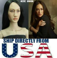 KUMIK Maggie Q Nikita 1/6 Head Sculpt For Hot Toys Female Body - U.S. SELLER