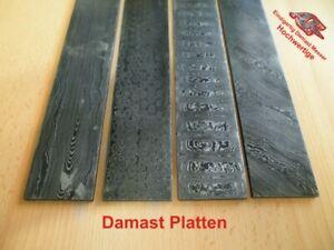 Damastmesser, Damaszener stahl, Damaststahl Platte Bar, Damascus, Knives