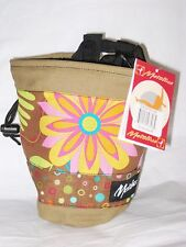Metolius Bop Chalk Bag for Rock Climbing NEW w/tags MSRP $23 Canvas #6 Brown