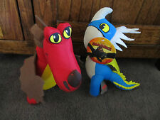 HOW TO TRAIN YOU DRAGON....2 soft toys from 2nd movie !! original items