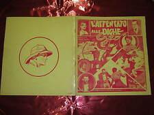 FANZINE DI FUMETTI COMICS WORLD MARZO 1969 N°2 L'ATTENTATO ALLE DIGHE GEO