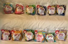 FURBY'S LOT OF 12 Plush CLIP Keychains 2000 MCDONALDS #1-12 NEW SEALED PACKAGES