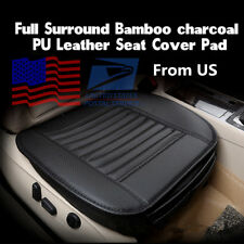 50*53cm Bamboo Charcoal Car Auto Seat Breathable Cushion Cover Universal From US