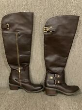 vince camuto leather boots Brown Size 6b/36