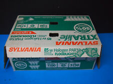 lot of 5 Sylvania PAR38 85 Watt 120 V Flood Beam Halogen xtra life 1 ge 90 watt