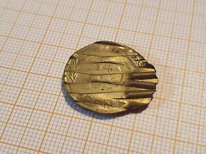0049:10 Pfennig 1974 D offiziell entwertet