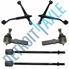 1999-2003 Ford Windstar Front Lower Control Arm Outer and Inner Tie Rod Kit 6pc