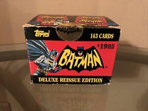TOPPS - 1966 Batman Deluxe Reissue Edition (1989) - 143 Card Set