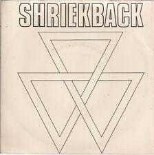 "Shriekback Lined Up UK 45 7"" single +Picture Sleeve +Hapax Legomena"