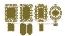 Provo Craft Cuttlebug Anna Griffin® Festooned Frames Cut & Dies + Mat Sealed
