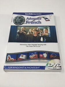 Eurotalk Interactive Learn French - Advanced DVD ROM, Windows XP, OSX