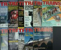 Trains Magazines 1999 (lot of 11) Missing July