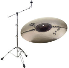 Stagg Dh Exo Med Thin Crash 17 + Potence-Support Cymbale
