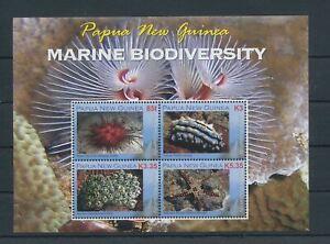 PAPUA NEW GUINEA 2008 Marine Life Biodiversity MNH Sheet (PAP188)