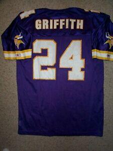 *IRREGULAR* Minnesota Vikings ROBERT GRIFFITH Jersey Adult MENS/MEN'S (L-LARGE)