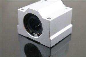 4 Pcs SCS13UU 13mm Linear Motion Ball Bearing Slide Unit Bushing for 3d printer