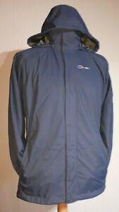 """Berghaus AQ2 Waterproof 3-in-1 """"Calisto Delta"""" Jacket Ladies UK 16 Grey RRP £225"""