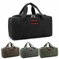 Military Canvas Duffle Gym Bag Sports Travel Luggage Handbag Tote Shoulder Bag
