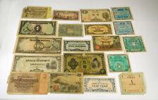 World War II International Paper Money Lot- 19 Notes