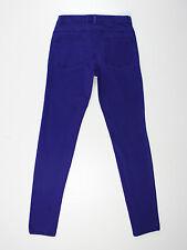 H&M womens Size 8 short leg 29L skinny fit purple jeans