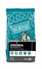 Burns Original Chicken And Brown Rice Hypoallergenic Adult Dog Food 15kg