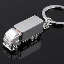 Portachiavi metallo CAMION autocarro porta chiavi chiave portachiave camionista