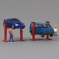 1:160 Spur N scale Kleinserie Bausatz Hebebühne für Autos PKW car lift ramp jack