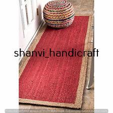 Jute Rug Hand Woven Braided Handmade 2x3 Feet Area Rugs Natural Jute Rug Carpet