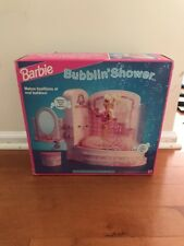 Sealed VINTAGE 1992 Barbie BATH TUB Bubblin Shower Mattel 4809 Bubble Bath
