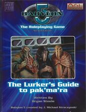 Babylon 5 2nd Ed. Lurkers Guide to Pak'ma'ra  RPG HC NEW OOP Mongoose  MGP 3520