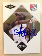 ANDREW McCUTCHEN Signed Autographed 2005 MINORS JUSTIFIABLE Baseball Card AUTO