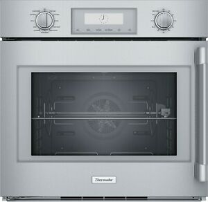 """Thermador SS 30"""" Pro Built-In Left Side Swing Wall Oven POD301LW"""