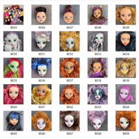 Lot 9pcs Monster High School Doll Multi Head For Replacement OOAK Toy Gift