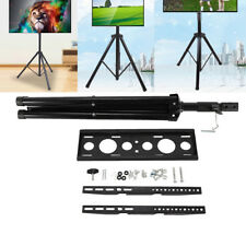 """360º Adjustable Tripod Tv Stand Television Lcd Flat Panel Monitor Mount 34""""-50"""""""