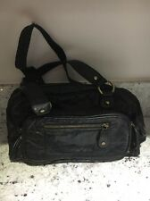 Laura Ashley Black Leather Handbag