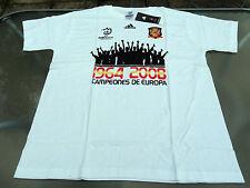 España Adidas Campeones europeos Camiseta 2008 Grande para Hombre Nuevo Con Etiquetas