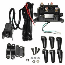 12V Contactor & Winch Rocker COMBO. Solenoid Relay Thumb Switch Fit For ATV/UTV