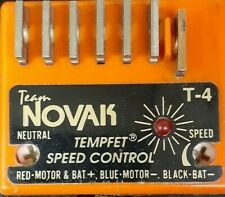 VINTAGE NOVAK T-4 TEMPFET BRUSHED MOTOR ELECTRONIC SPEED CONTROL