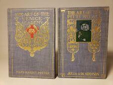 1904 / 1905 ART OF VENICE ACADEMY & PITTI PALACE DECORATIVE CLOTH FINE COPIES