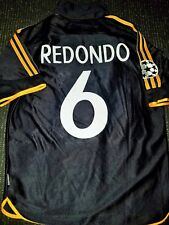Redondo Real Madrid Jersey 1999 2000 UEFA FINAL Shirt Camiseta Argentina Maglia