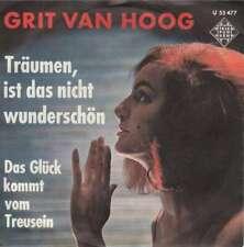"""Grit Van Hoog - Träumen, Ist Das Nicht Wunderschön 7"""" Vinyl Schallplatte - 6397"""