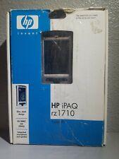 HP iPAQ rz1710 PDA Pocket PC Slim, Sleek design 2004 Hewlett-Packard Company