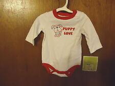 "Circo 3 M Babys Bodysuit "" Puppy Love "" Beautiful One Piece "" NWT """