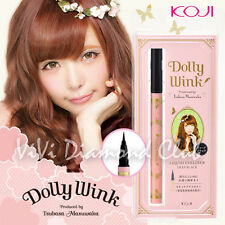 KOJI Dolly Wink Taubasa Masuwaka Liquid Eyeliner DEEP BLACK NEW Ver. *US SELLER*